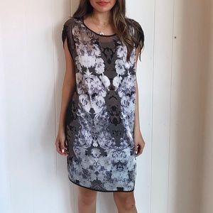🆕 sheer floral dress